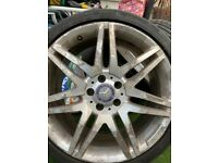 MERCEDES AMG 19 INCH ALLOY WHEELS FOR SALE