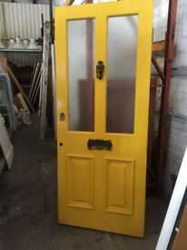 Front door circa 1900 H:208.5cm x W:85.5cm