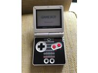 Limited Edition NES Gameboy Advance Sp and Pokemon Sapphire