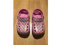 Girl's M&S crocs - size 11 - £2