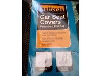 Halfords car seat covers