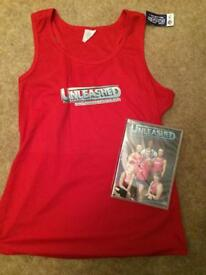 Fitness DVD and T-shirt