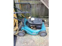 Petrol mower spares or repair.