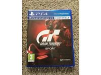**SEALED** GRAN TURISMO SPORT PS4 GAME BRAND NEW FOR PLAYSTATION 4 PSVR COMPATIBLE TOO
