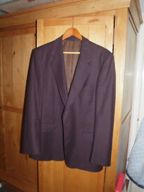 Magee of Donegal aubergine blazer size 40s