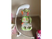 Fisher price musical baby swing