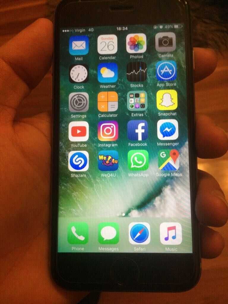 Iphone 6s 16gb unlocked or swop for iphone 7 and moneyin Bradford, West YorkshireGumtree - Iphone 6s 16gb unlocked to all networks in mint condition with box case and screen protector. Sell or px for iphone 7