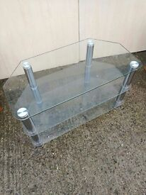 Glass TV / Entertainment stand