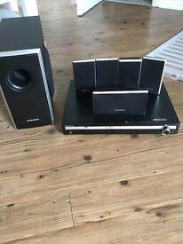 Samsung dvd and surround sound system