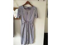 Size 8 Seraphine maternity dress