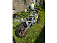 Suzuki GS500EX 1999 spares or repair. Partly dismantled for refurb.