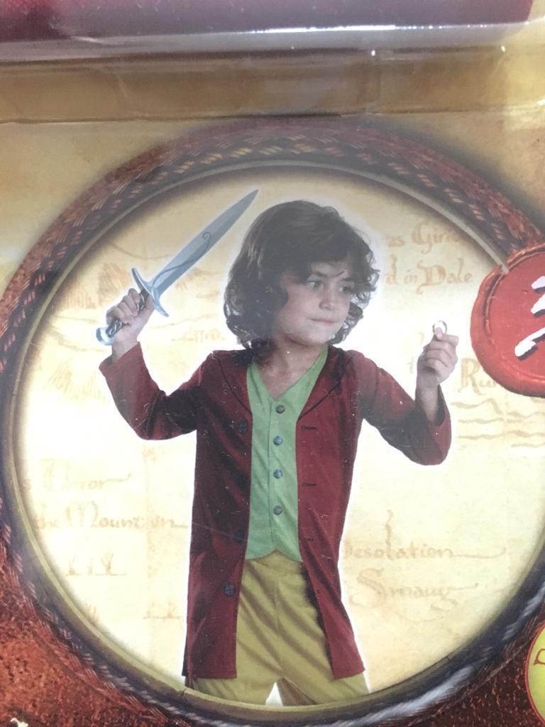 Hobbit costume. Halloween