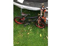 Boys 14 inch bike broken