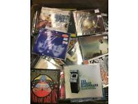 Job Lot of Approx 500+ Compact Discs CD's Singles - all Im cases - some are new sealed