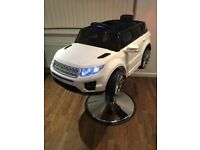 All new 2018 two in one children's range rover sport style high chair/salon chair drive around car