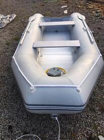 Tender/fishing boat semi rigid inflatable 3.2m