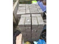 800 Purple block paving bricks