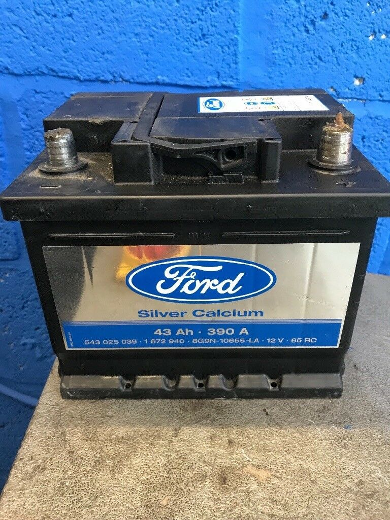 car battery fully working genuine ford in bradford. Black Bedroom Furniture Sets. Home Design Ideas