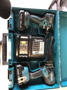 PL model Two Drill Makita with two batteries almost new