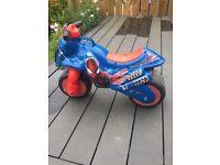 Spider-Man kids motorbike