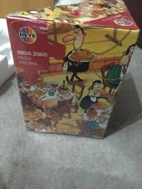 1000 Piece Jigsaw And Poster Brand New