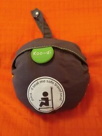"Child's travel seat ""seat me"" by koodi / koo di"