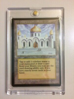 🔥[FREE WORLDWIDE SHIPPING]MTG Library of Alexandria Arabian Nights NM