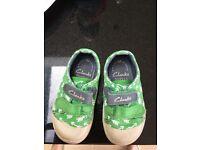 Clarks doodles boys shoe