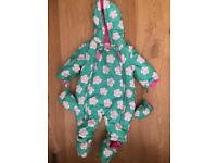 Girls snowsuit 0-3 months
