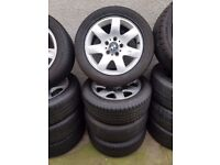 Bmw 16'' Alloy Wheels Excellent Tyres Can Sell Singles Can Post Part Exchange Welcome