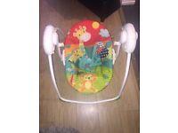 Baby's swinging chair