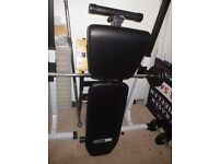 Pro Fitness Black Weights Bench - As New