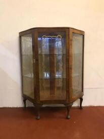 Hexagonal vintage deco drinks cabinet.