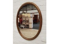 Oval Wall Mirror (DELIVERY AVAILABLE)