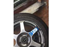 Selling 16inch Three week old tyres.