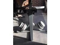 BODYMAX CF666 LEVERAGE BENCH WITH 100kg OF WEIGHTS