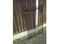 Metal/Stell/Iron Garden Gate / Pedestrian / Side Gate-COLLECTION/DELIVERY