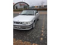 Lovely Saab 9-3 convertable get ready for summer