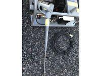 KARCHER HDS 1000de. Hot wash, Diesel engine pressure washer