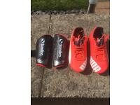 Puma football boots (used once)