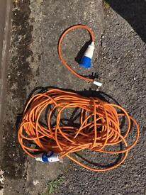 Hook up cable&converter