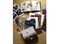 ELEKTRA Record label BOX SET. CDs, Book, posters, etc.