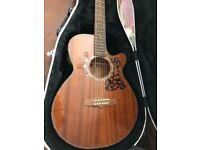 Tangle wood electric acoustic guitar -Sundance