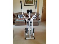 Air Walker Glider Cross Trainer Fitness Machine with LCD