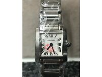 Ladies Cartier Tank Francaise in Stainless Steel FREE POSTAGE