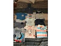 Jeans and tops size 12-18 months