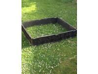 15 x Plastic raised beds & 1 compost bin