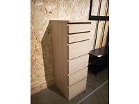 RESERVED- MALM Chest of 6 drawers, oak 40x123 cm, IKEA MILTON KEYNES #bargaincorner