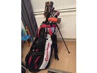 Taylor made clubs and bag