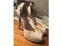 New Kurt Geiger, Carvela Cream shoes/heels